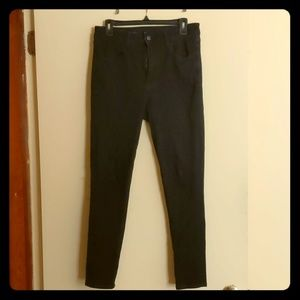 American Eagle Skinny stretch black denim jeans
